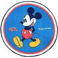 Cerdá 2200003994 Toalla Redonda Mickey, Azul, 130x130cm