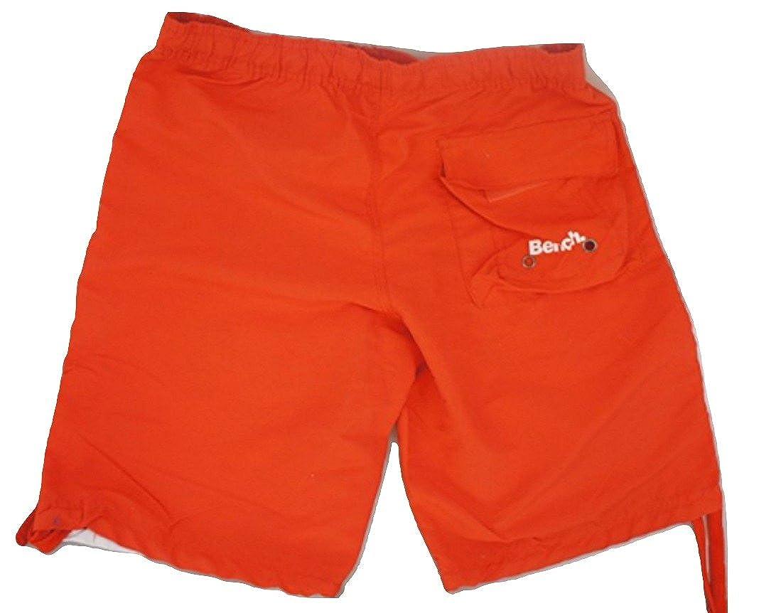 Men s BENCH Red Board Shorts - SIZE Small  Amazon.co.uk  Clothing 163e9b5db