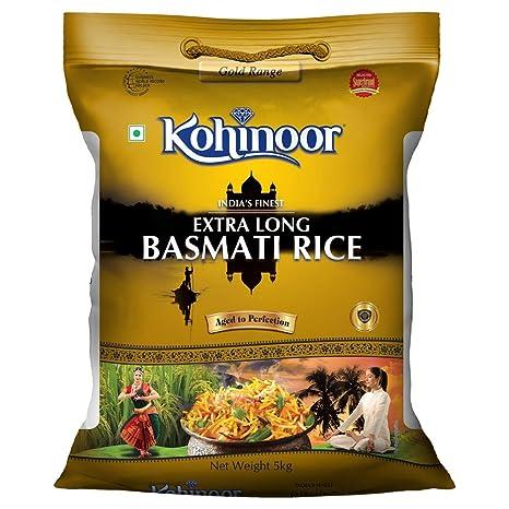 Kohinoor Extra Long Gold Basmati Rice, 5kg