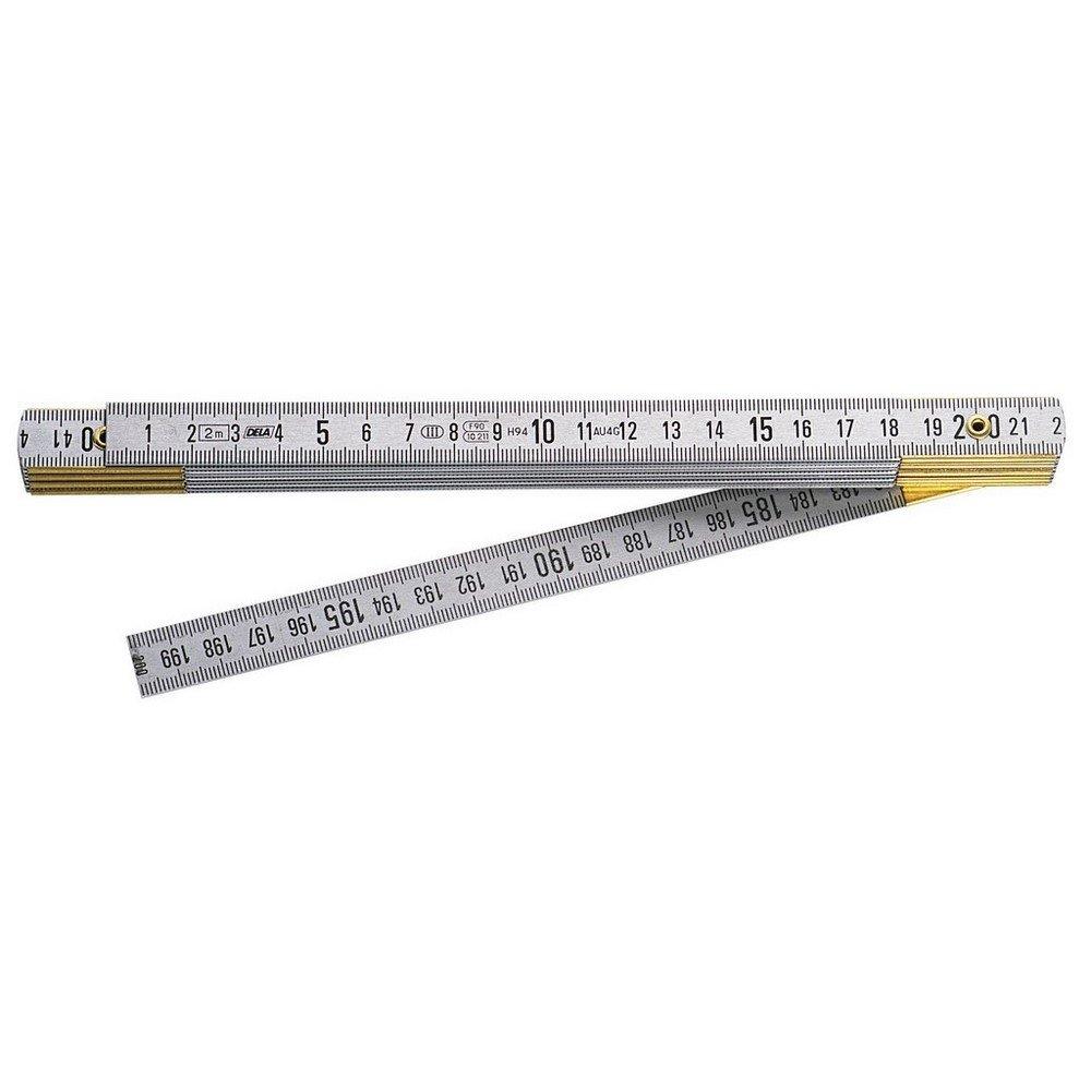 Facom-DELA.626, 00 aluminium Mè tre pliant 2 m 00 aluminium Mètre pliant 2 m DELA.626.00
