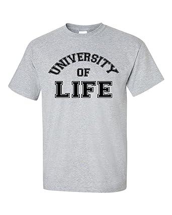 University Of Life T-Shirt  Amazon.co.uk  Clothing 533405e67