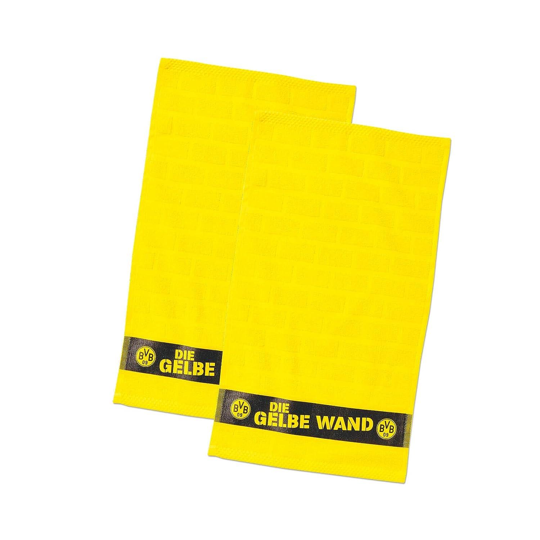Borussia Dortmund BVB Fan Artículo Amarillas Toalla Pared: Amazon.es: Deportes y aire libre