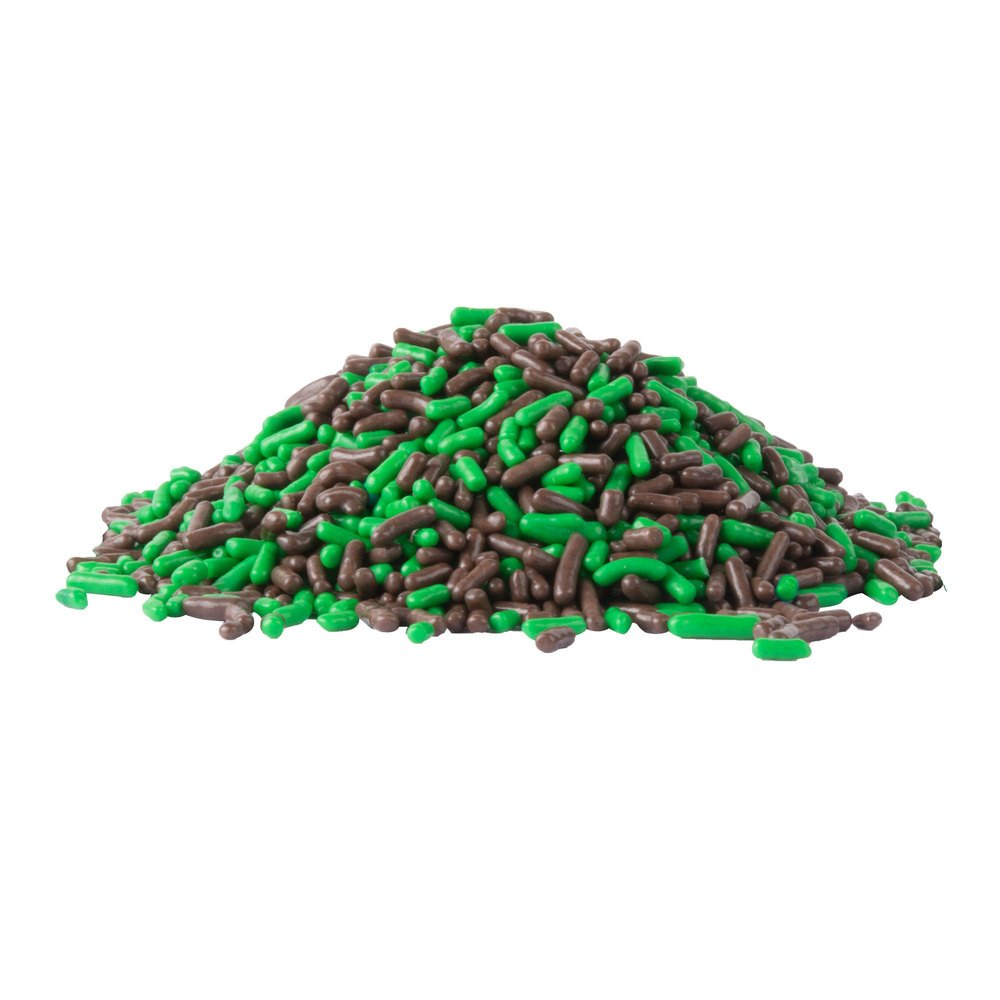 TableTop King Dutch Treat Chocolate Mint Sprinkles Candy Ice Cream Topping - 10 lb.