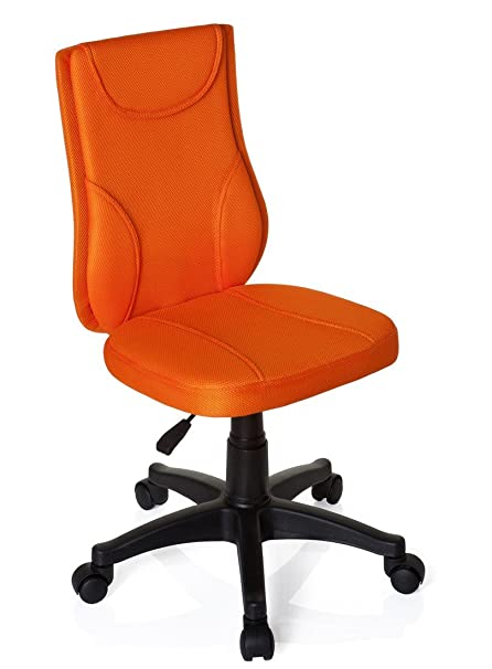 Merveilleux Hjh OFFICE, 670440, Childrens Desk Chair, Swivel Chair, Computer Chair Kids  Room, KIDDY BASE, Orange, ...