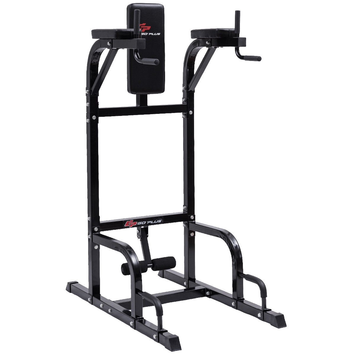 Amazon.com : Goplus Vertical Knee Raise VKR Multi-function Power Tower with  Dip Station Strength Training and Muscle Building for Home and Gym : Sports  & ...