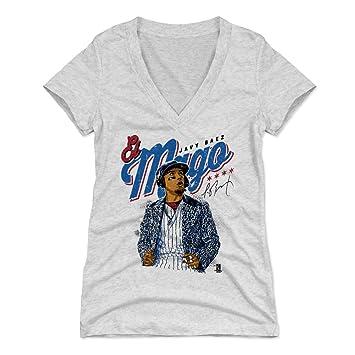 low priced 8221c 9d3bf 500 LEVEL Javier Baez Women's Shirt - Chicago Baseball Shirt for Women -  Javier Baez El Mago