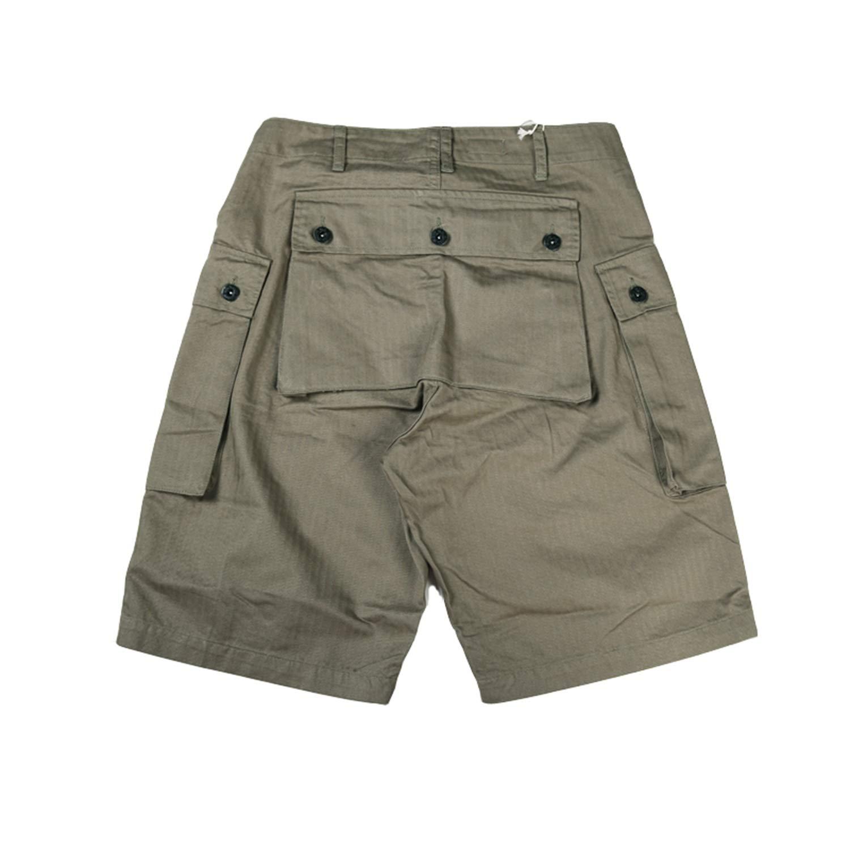 Mens Short Jeans Short Pants Mens Cotton Vintage Straight Casual Short