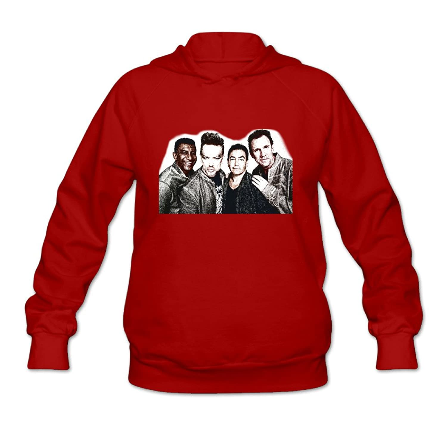 Woman's Autumn Culture Club Handsome Members Hoodies Shirts Red