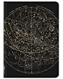 large 100 chart - Cognitive Surplus Black Star Chart Notebook. (Large Size, Grid & Lined, 100% Recycled)