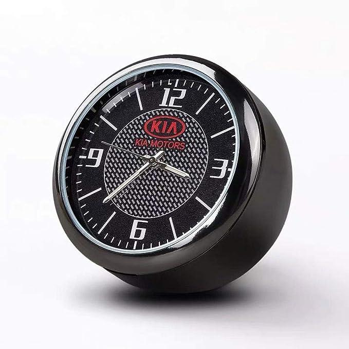 Fitracker Mini Auto Uhr Armaturenbrett Lüftungsgitter Clock Interior Zubehör Hohe Genauigkeit Quartz Luminous Dial Perfekte Auto Dekoration Auto