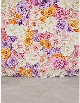 Flores floreciendo pared telón de fondo fondo de vinilo de 5 ...