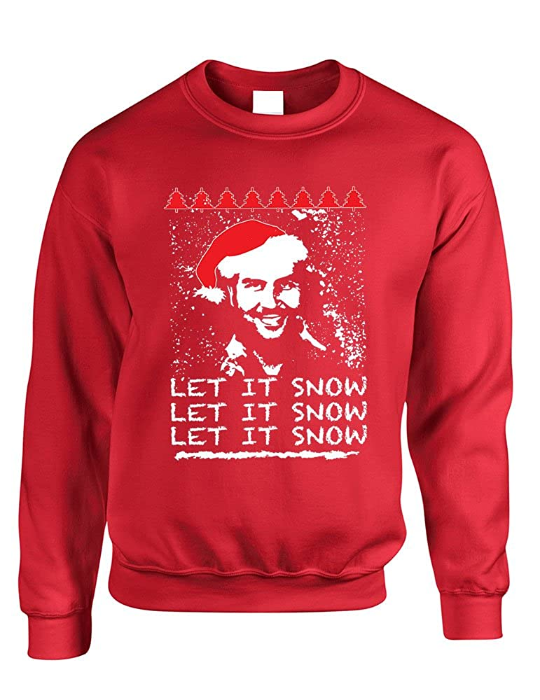 Allntrends Adult Crewneck Pablo Escobar Snow Christmas Funny Top