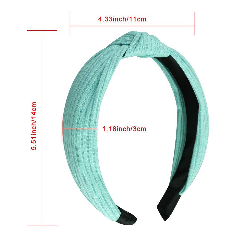 Rib Knotted Headband 3 Pack