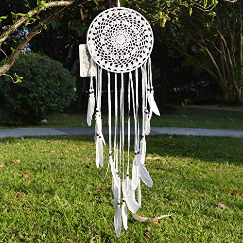 Century 18th Fireplaces (Ricdecor White Feather Dream Catchers for Bedroom,Dream Catcher Wall Hanging,Car Hanging Decoration Ornament)