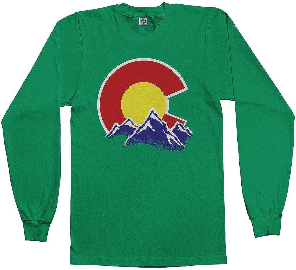 Amazon.com  Threadrock Men s Colorado Mountain Long Sleeve T-Shirt  Clothing 8728b710397