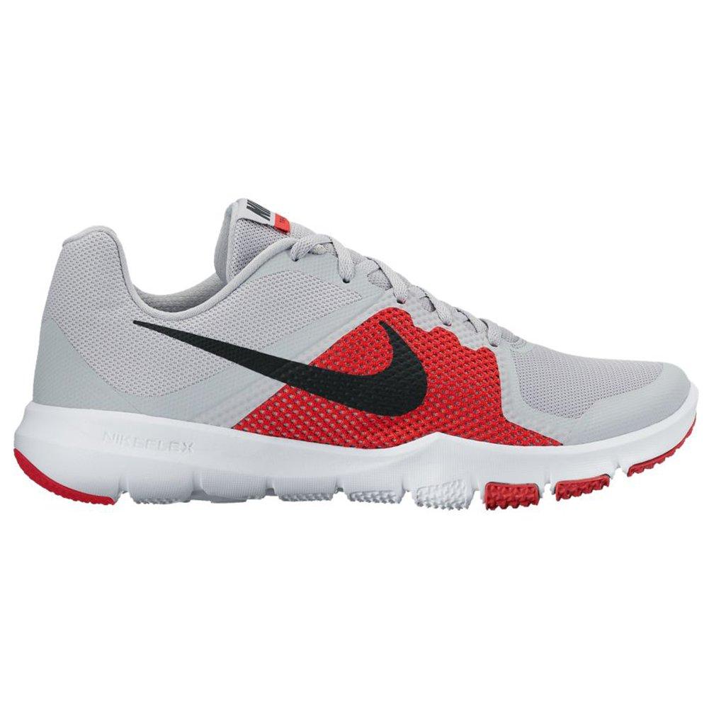 NIKE Men's Flex Control Cross Trainer Shoes B01LEID7E2 8 D(M) US|Pure Platinum/Black