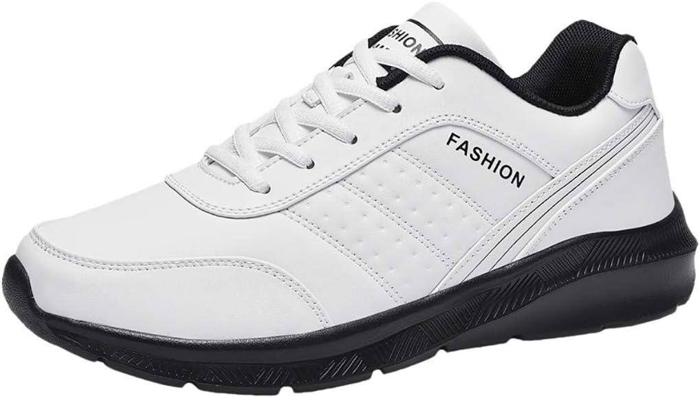 RYTEJFES Tendencia Casual Calzado Deportivo Zapatillas De Deporte para Hombre Zapatillas De Running Calzado Deportivo Simple, Resistente Al Desgaste, Antideslizante, Bicolor: Amazon.es: Hogar