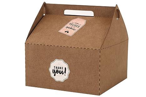 Cajas en cartón Kraft - Picnic (4 u.)