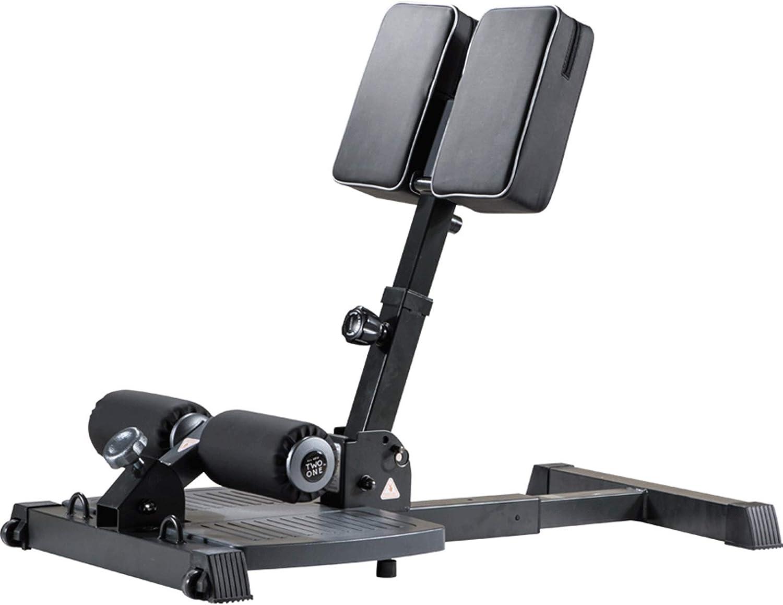 ZMJ Máquina de Piernas Plegables Banco Multifunción Sissy Squats Máquina de Sentadillas Profundas Ajustable Estación de Gimnasio en Casa de Servicio Pesado, con Polea Móvil (Color : Negro)