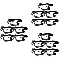 F Fityle 15x Cool Basketball Dribble Training Goggles for Head Up Training Aid - Black