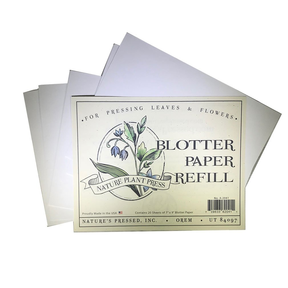 Natures Pressed Flower Press For Adultskids Blotter Paper And