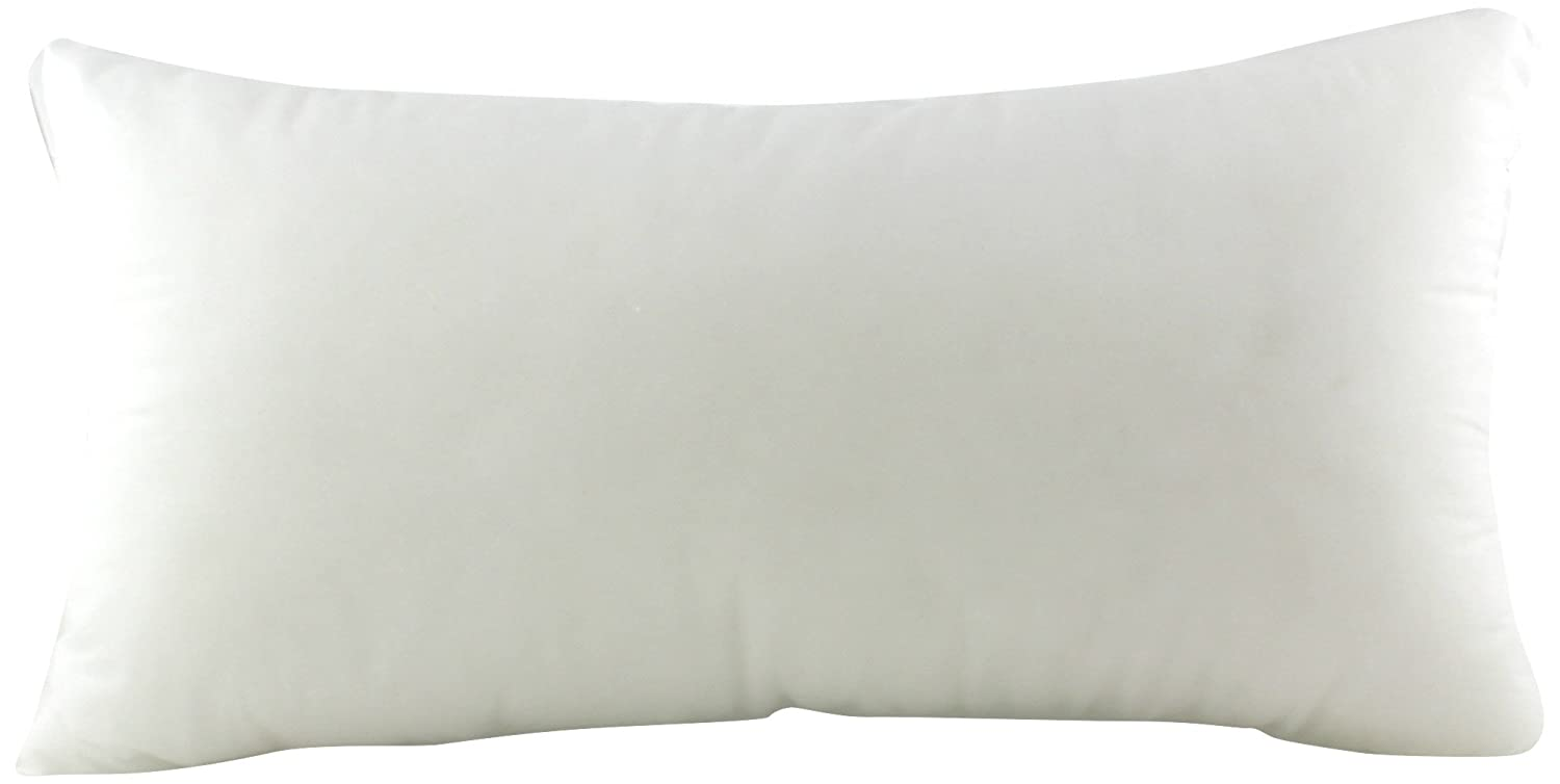 Pile of Pillows Form Insert Cushion-12X22-Inch-8 Pack 6618