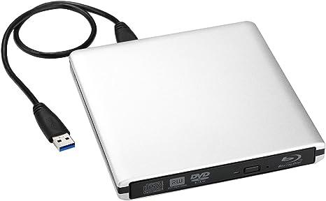 VicTsing − Lectora/grabadora de Blu-ray externa y portátil ...