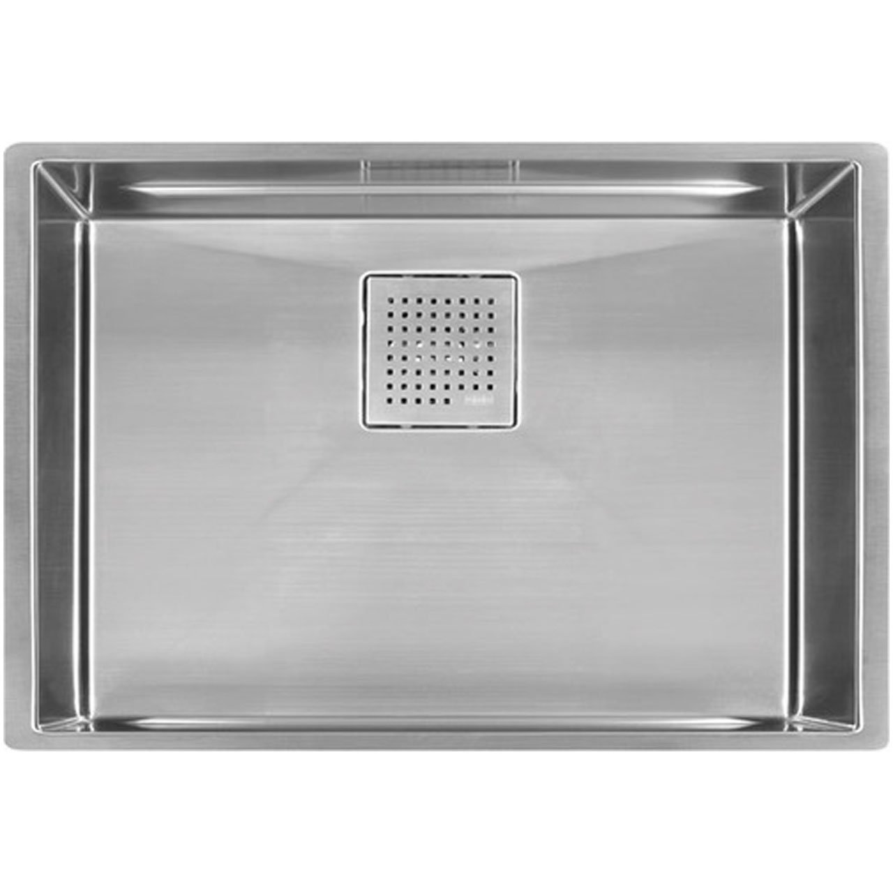 Franke pkx11028 peak 28 3 4 x 17 3 4 x 9 5 8 16 gauge undermount single bowl stainless steel kitchen sink amazon com