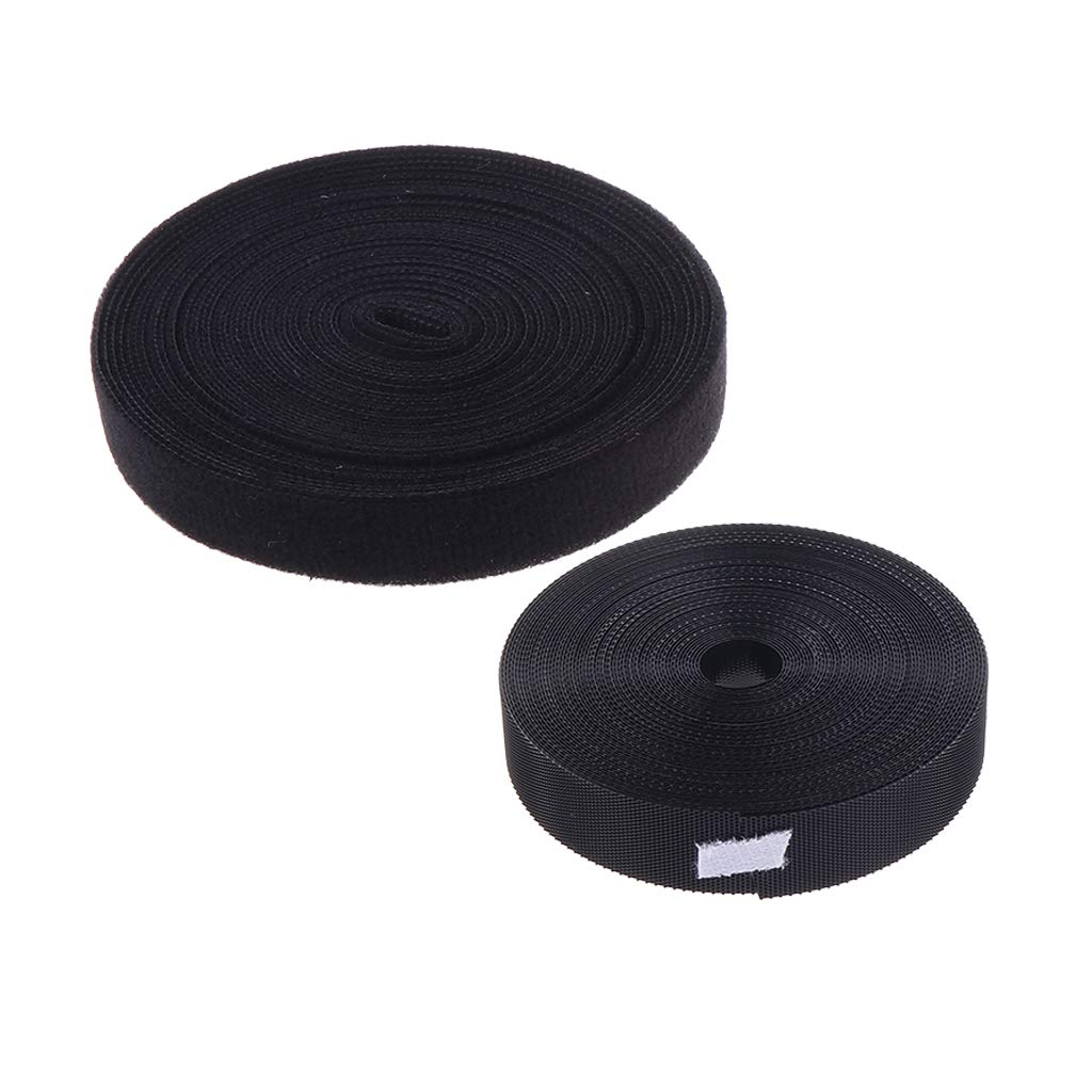 1.94M*20mm Sticky Self Adhesive  Tape Fastener Strip Solid