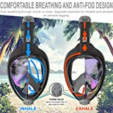 Aleoron - Foldable Full Face Snorkel Mask for