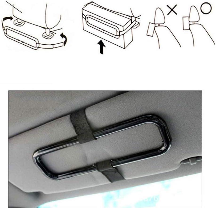 ulofpc Support de Voiture Portable Organisateur Accessoires Auto Voiture Pare-Soleil bo/îte de mouchoirs Titulaire Serviette si/ège Dossier