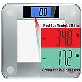Ozeri Precision II Digital Personenwaage mit Gewicht gewichtsänderungserkennung Technologie, 200kg