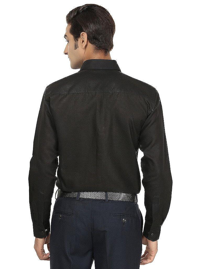 Royal Mens Solid Formal Cotton Shirt
