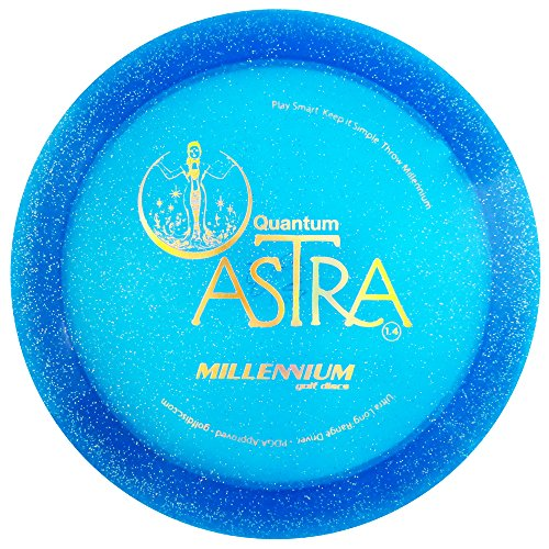 Millennium Quantum Astra Driver Golf Disc [Colors May Vary] - 165-169g ()