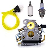 FitBest New Carb for Husqvarna 235 235E 236 240 240E Chainsaw Carburetor Replaces OEM # 574719402 545072601