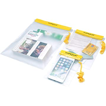 reliable Yumqua Clear Waterproof Bags