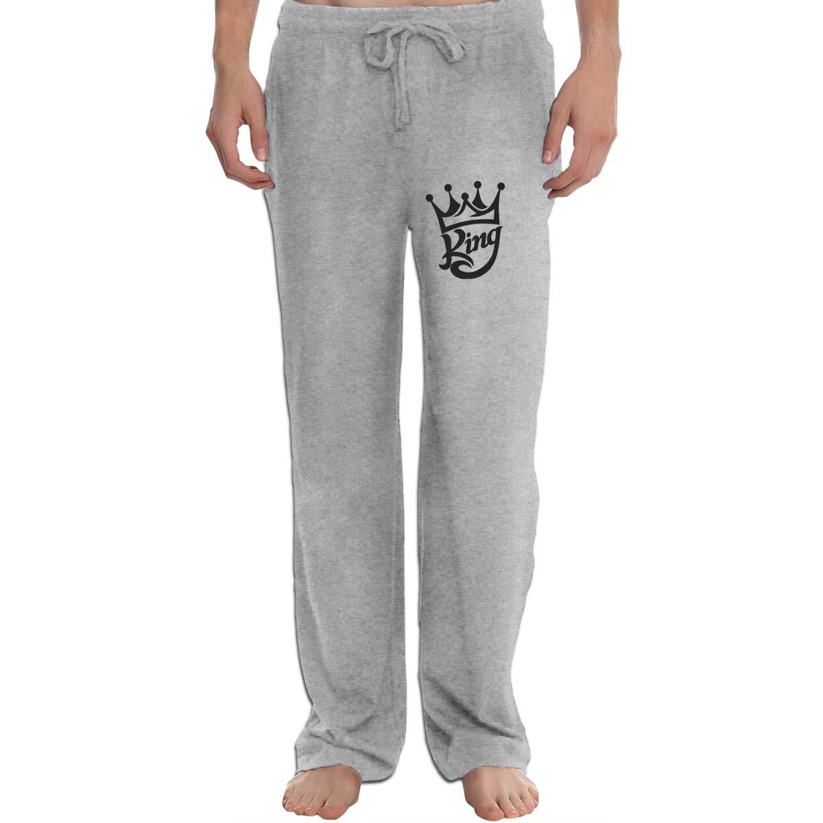 Rainbow Space King Crown II Mens Lounge Long Pants