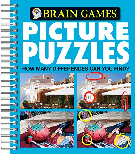 Brain Games - Picture Puzzles #4: How Many Differences Can You Find?