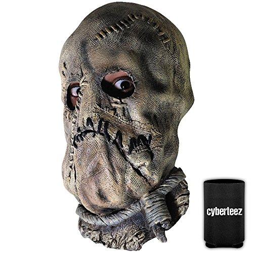 (Scarecrow Batman Begins Men's Overhead Costume Mask +)