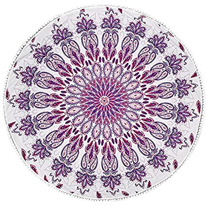 puraid (TM) Newest bohemio Mandala toalla de playa alfombrillas 2016 Top venta Hippie manta