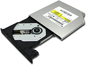 HP G6 G50 G60 G62 G70 G72 Laptops Lightscribe 8X DL DVD RW RAM Burner Dual Layer Recorder 24X CD-R Writer 12.7mm SATA Tray-Loading Slim Optical Drive Replacement