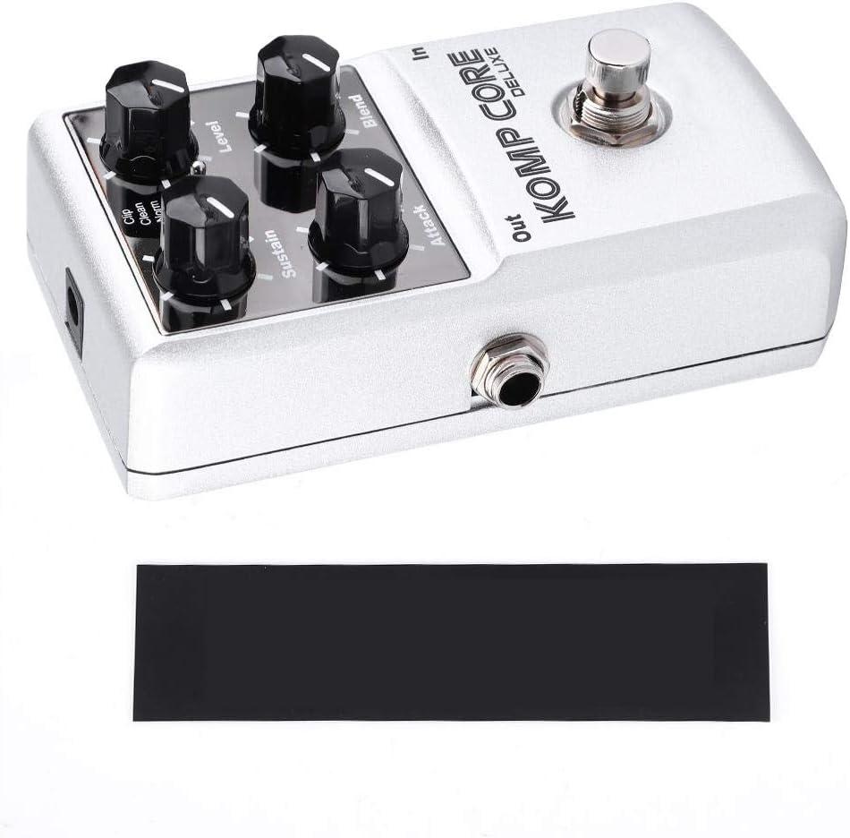 Efecto de Guitarra Eléctrica, Kits de Efectos de Guitarra de Compresión de Bloque único NUX KOMP Core Delux