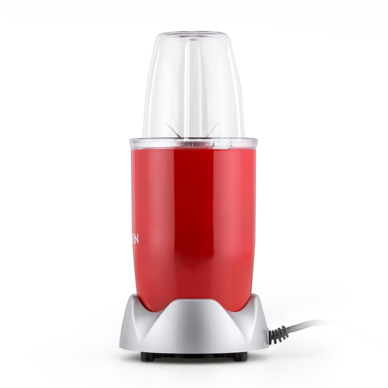 Klarstein NutriRocket Batidora para batidos multifuncional (700W potencia picadora, 1 vaso grande, 2 pequeños) - Roja: Amazon.es: Hogar