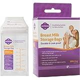 """Milkies""""No-Break, No-Leak"""" Breast Milk Storage Bags, 50-Count, BPA-Free"""