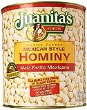 Juanitas Hominy, 105 oz
