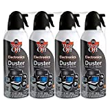 Electronics : Falcon Dust-Off Electronics Compressed Gas Duster 10 Oz (4 Pack)