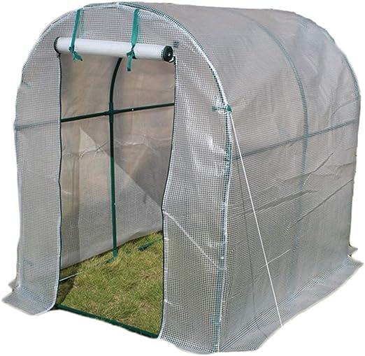 Invernaderos Plastico huerto terraza Walkin para el Exterior, jardín Verde Transparente Casa Verde Caliente para Plantas de Flores, 1.5 × 1.2 × 1.5 m: Amazon.es: Hogar