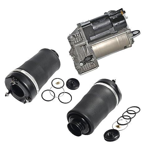 Bomba de Compresor de Suspensión Neumática y frontal Muelle de suspensión de aire para Mercedes W164