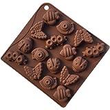 YOKIRIN® Stampo in Silicone Formi di Animale Accessorio per la Decorazione Della Torta del Fondente di Cioccolato stampi Zucchero Torte Stampi Sapone(Colore Casual)