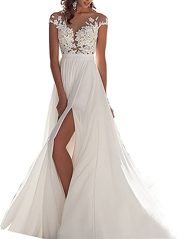 Special Bridal Strapless Wedding Dresses For Bride Lace Ruffled Long Beach Wedding Dress Amazon Ca Clothing Accessories,Jacket Dress For Wedding Guest